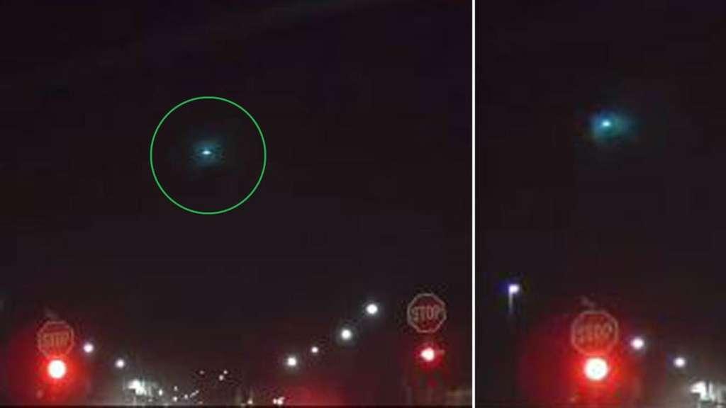 Meteorit, Sternschnuppe oder Ufo: Grüner Feuerball rast über Süddeutschland - Was war DAS?