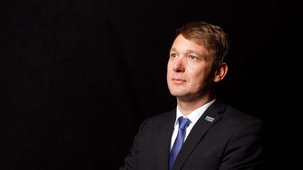 Misstrauen ausgesprochen: AfD-Fraktionsvorsitzender André Poggenburg vor Abwahl