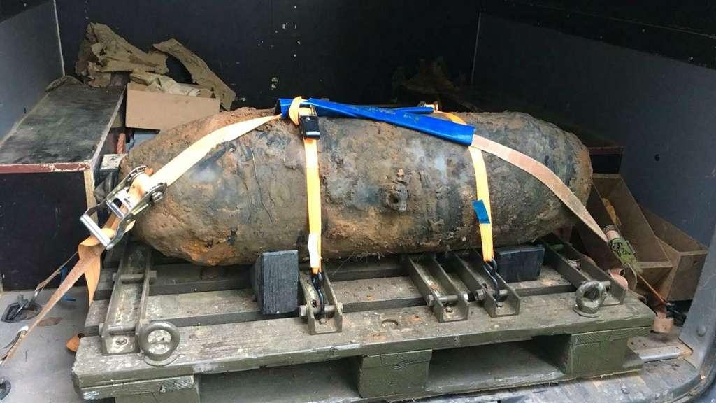 Kilogramm schwere Weltkriegsbombe an Fulda gefunden