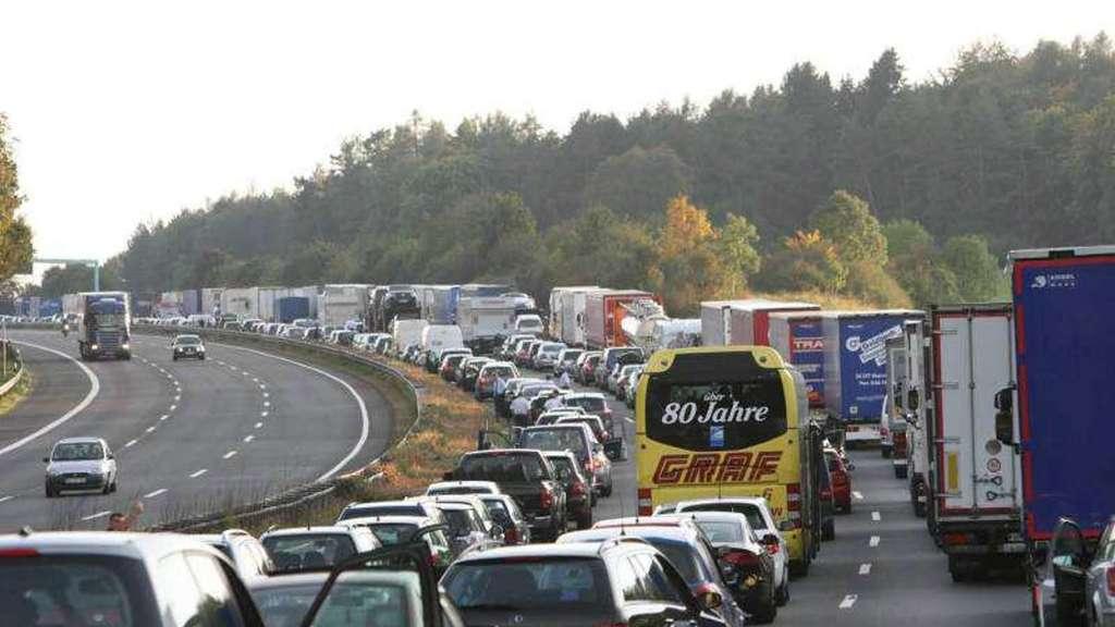 Auf diesen Autobahnen kann es an Pfingsten voll werden