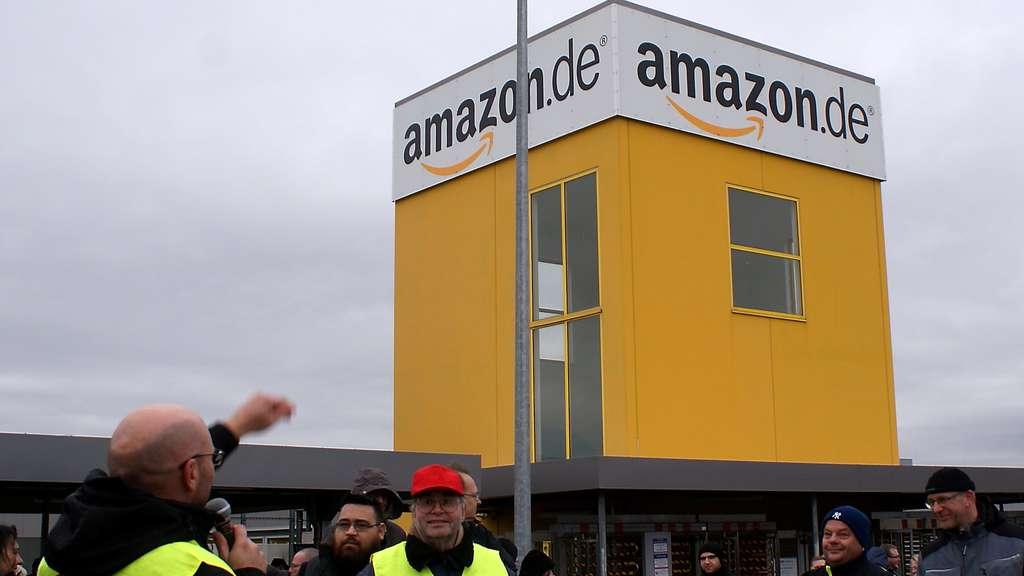 Amazon-Mitarbeiter streiken zum Prime Day