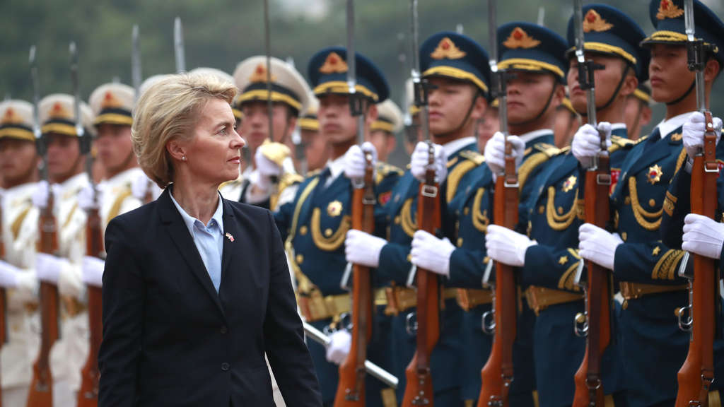 Ursula von der Leyen in China
