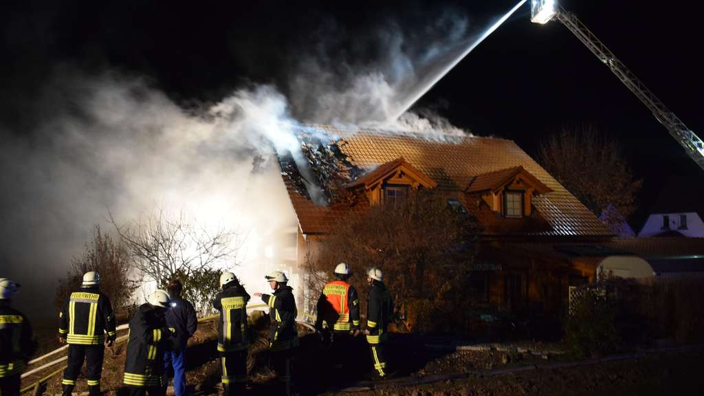 Brand in Lütersheim