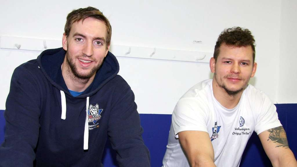 Alex Heinrich und Michi Christ - Kassel Huskies im Doppel-Interview