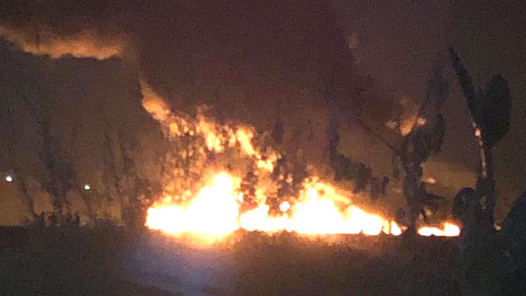 Illegaler Anzapfversuch?: Explosion an Benzinleitung tötet 20 Menschen