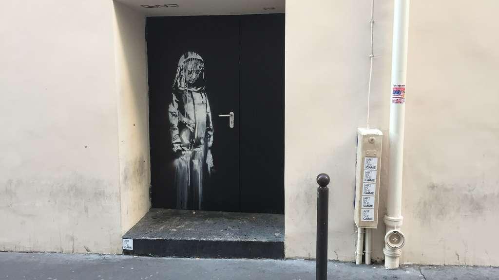 Mutmaßliches Banksy-Werk in Paris gestohlen