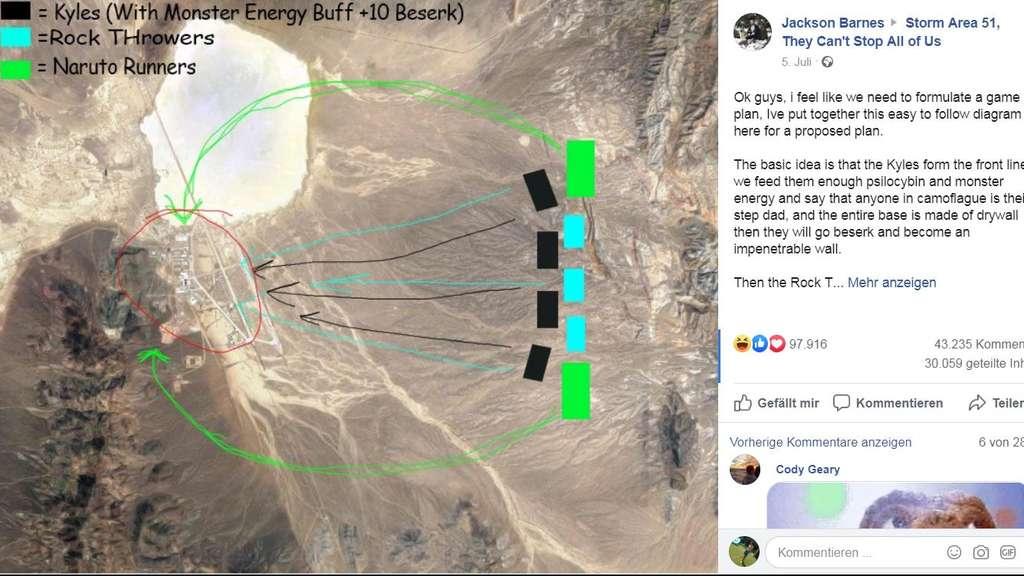Rettet die Aliens: Internet-Gemeinde plant den Sturm auf die Area 51