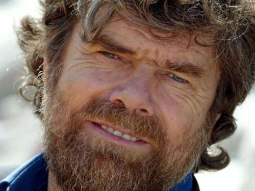 Bergsteiger Reinhold Messner heiratet