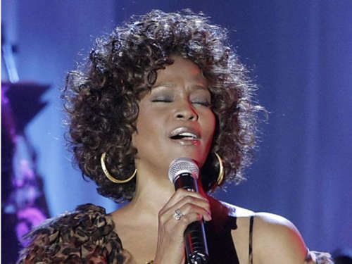 Whitney Houston stellt Comeback-CD vor