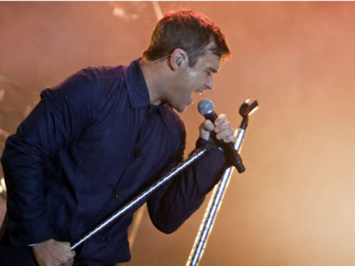 Robbie Williams: Gratis-Songs in Berlin