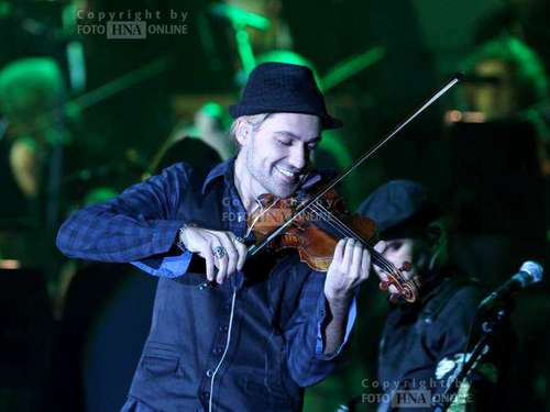 David Garrett in der Eissporthalle Kassel
