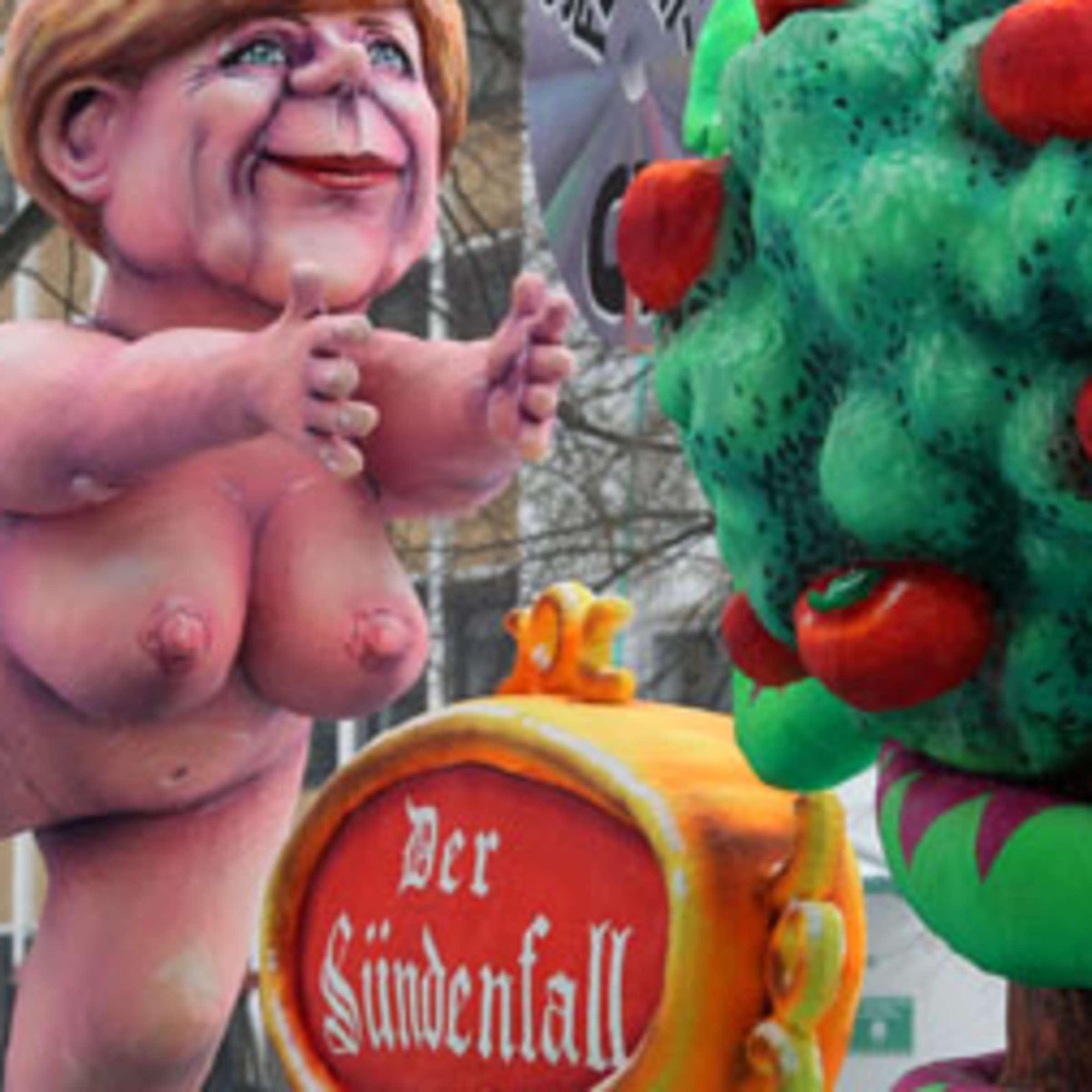 Merkel  nackt Angela Payton Ramolla
