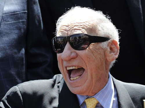 Mel Brooks bekommt 2406. Stern in Hollywood