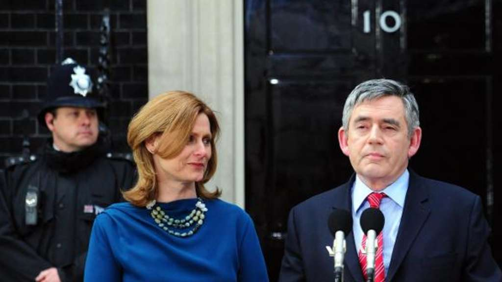 Gordon Brown Sarah Brown