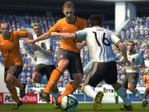 Screenshots aus PES 2011
