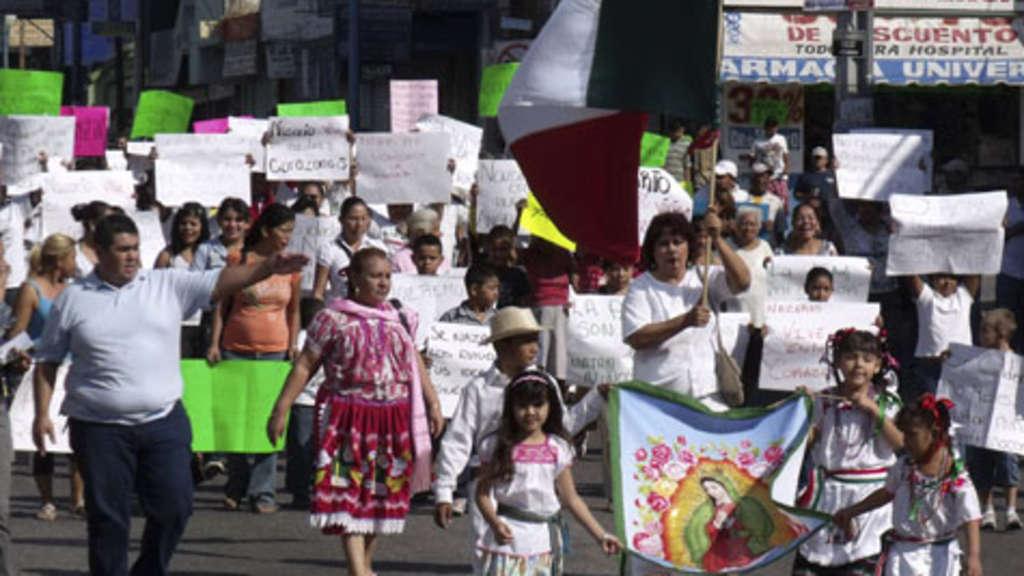 Drogenkartell in Mexico wünscht frohe Weihnachten | Welt