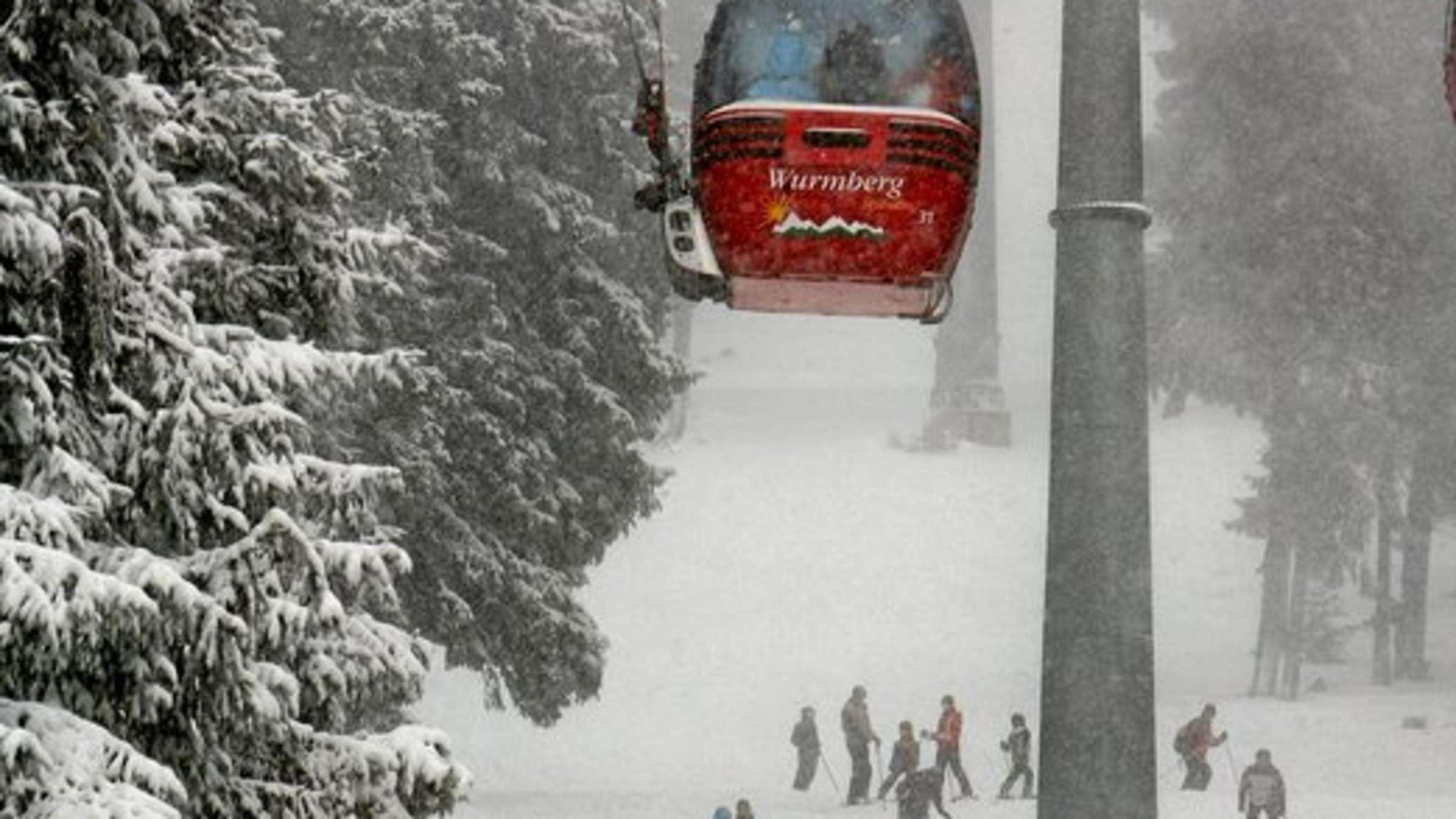Schneehöhen harz wurmberg