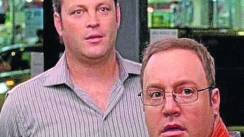 Pfundskerle: Ronny (Vince Vaughn, links) und Nick (Kevin James). Foto:  Universal