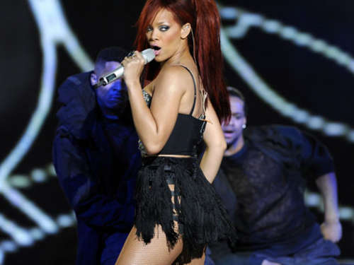 Rihanna: Sexy Show bei All-Star Game