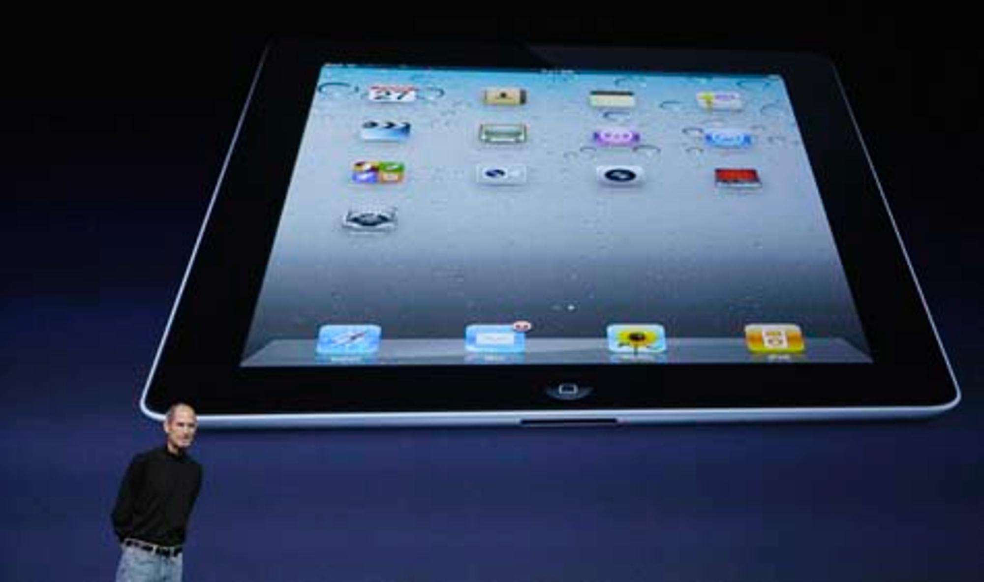 steve jobs bei apple event neues ipad 2 vorgestellt. Black Bedroom Furniture Sets. Home Design Ideas
