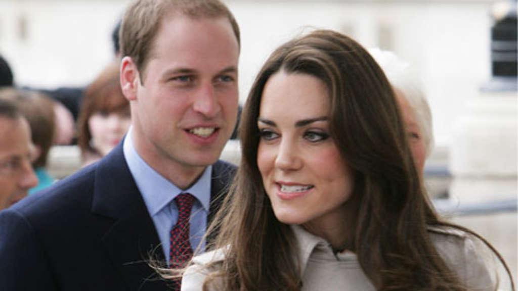 Prinz William Und Kate Middleton James Blunt Und Robbie Williams