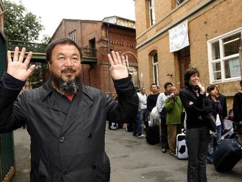 2007 in Kassel: Ai Weiwei bei der documenta 12