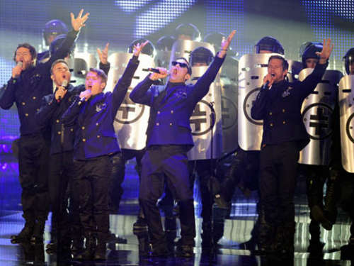 Take That planen Tournee der Superlative