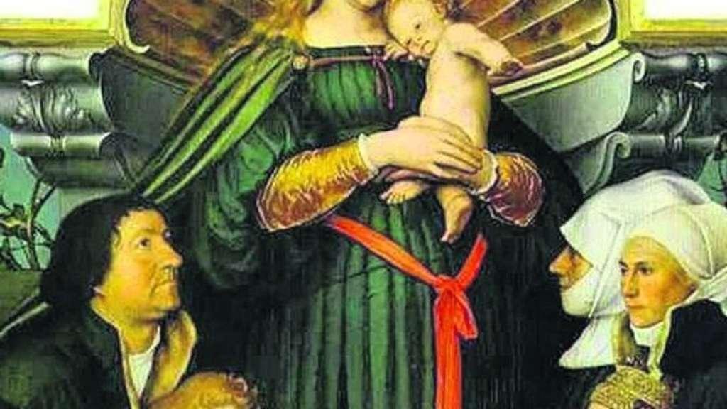 Holbein Madonna Geht Unternehmer Hat Gemälde Vom Fürstenhaus Hessen