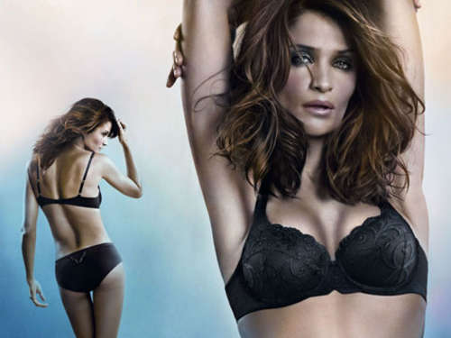 Helena Christensen sexy in Dessous