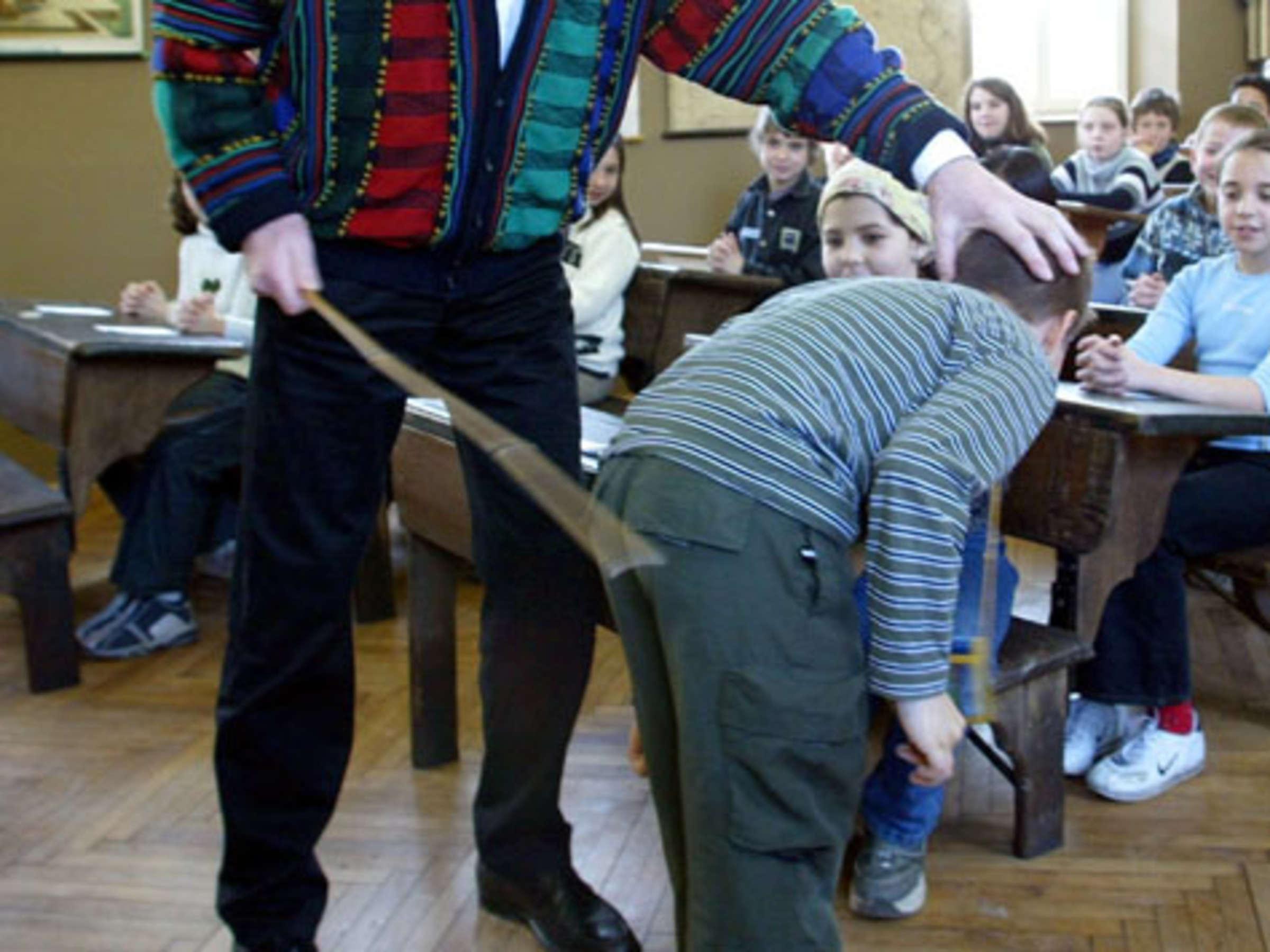 Früher bestrafung schule in der Bestrafung im
