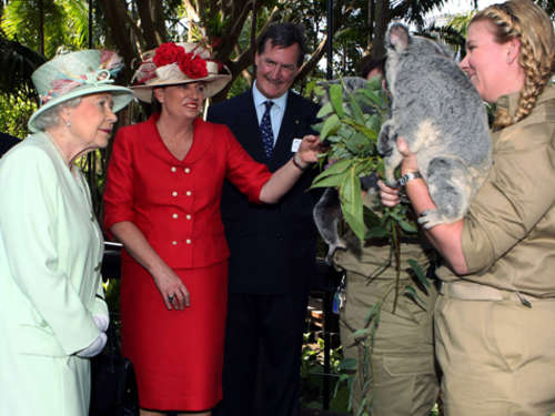 "Die Queen zu Besuch in ""Down Under"""