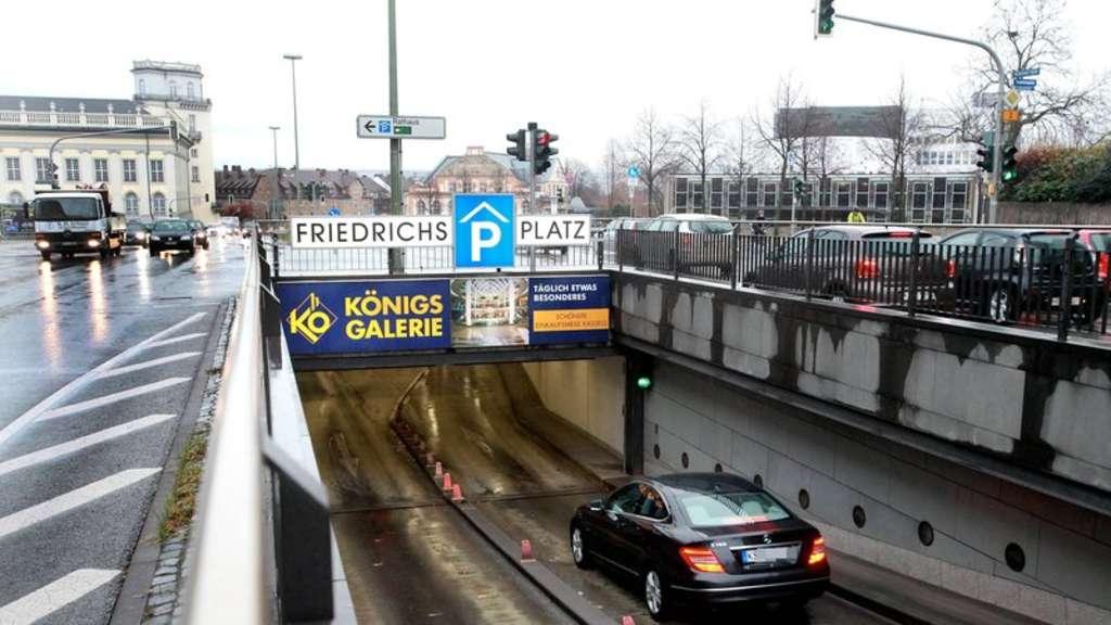 Parkhaus Kassel Friedrichsplatz