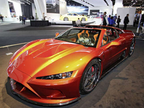 Heimlicher Star in Detroit: Falcon F7