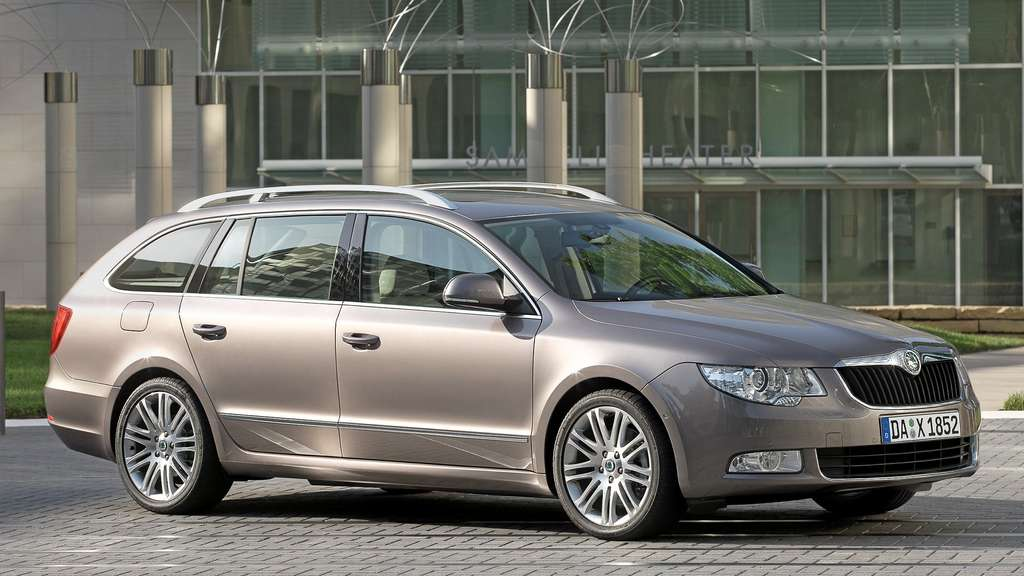 Business-Class mit Stil: der Skoda Superb (Fotos: Skoda)