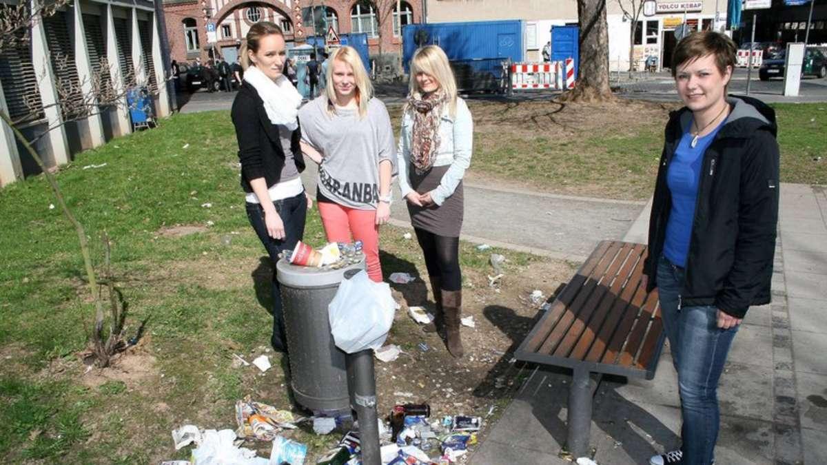 Trinkerszene an der Gießbergstraße: Mit mulmigem Gefühl