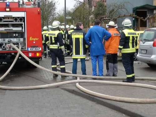 Brand in Berndorf