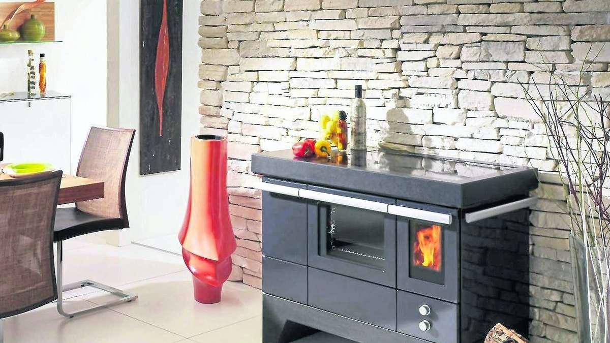 holzherd kochen backen heizen wohnen. Black Bedroom Furniture Sets. Home Design Ideas