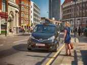 Nissan Taxi London NV200