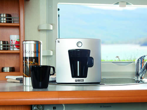 Coffee to camp: Mobile Kaffee-Padmaschine