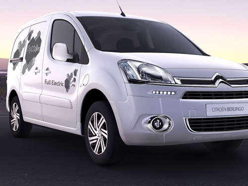 Weltpremiere: Citroën Berlingo Electrique