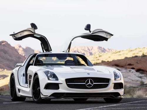 Noch mehr Power! Mercedes SLS Black Series