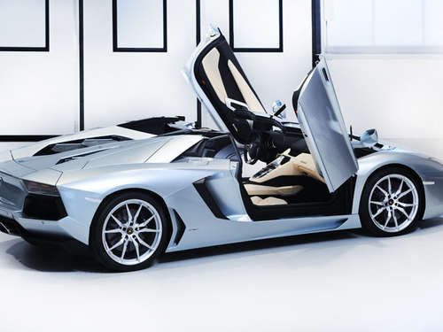 Open-Air: Lamborghini Aventador als Roadster
