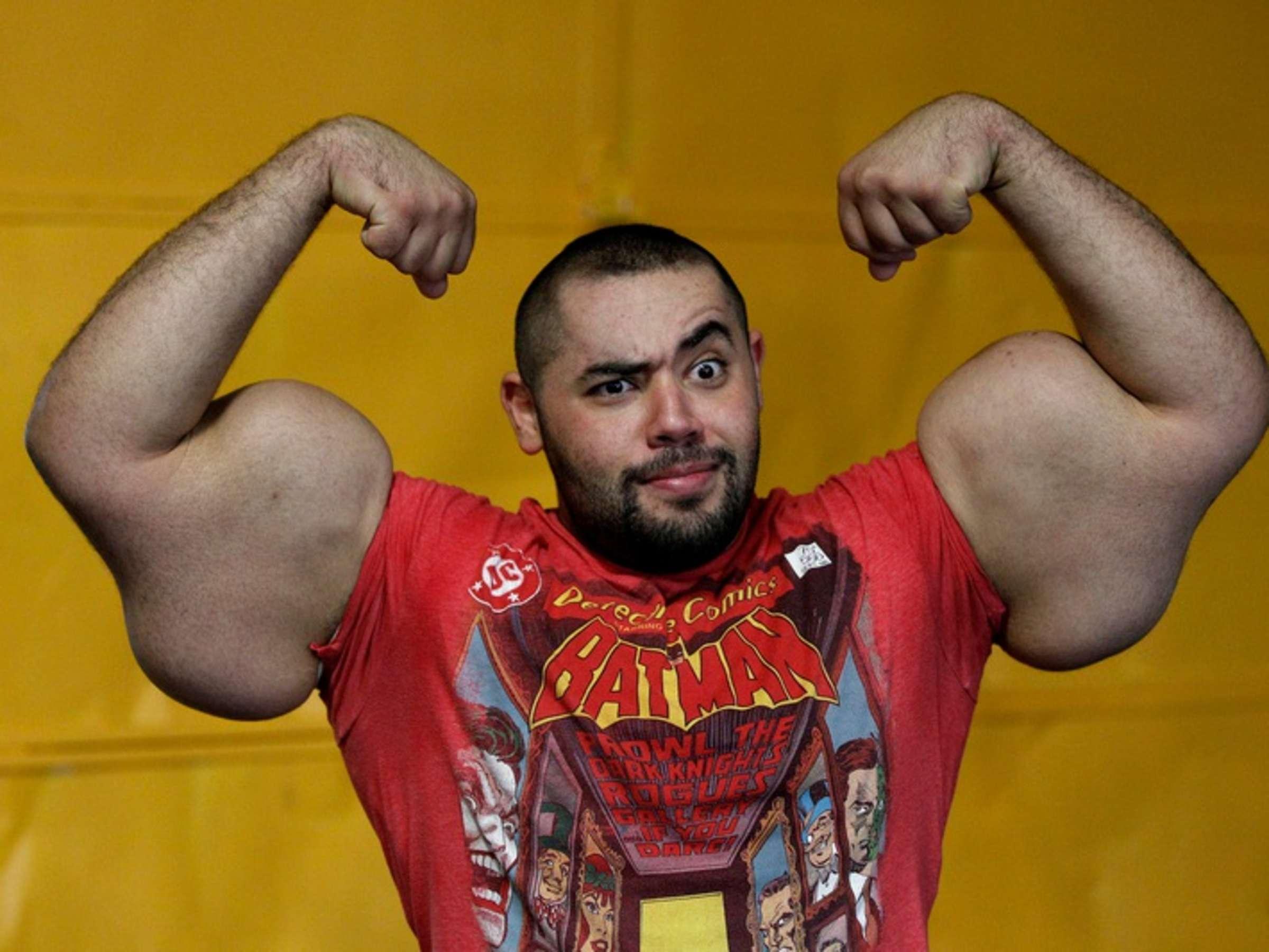 Muskeln meisten mit welt der den mann Muskeln der