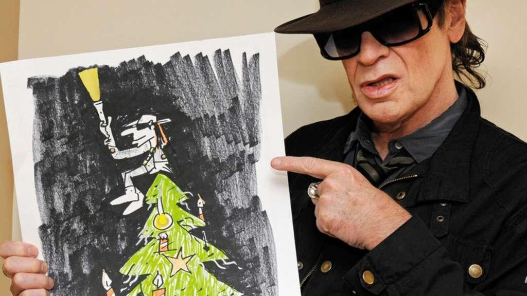 Weihnachtskarten Udo Lindenberg.Udo Lindenberg Präsentiert Weihnachtskarte Für Unicef Leute