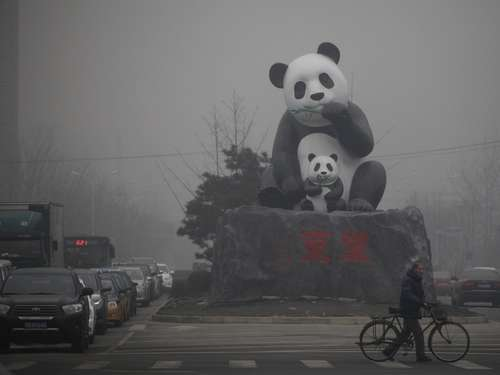 Alarm! Mega-Smog in Peking