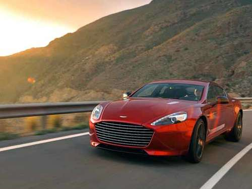 Power Coupé: Der neue Aston Martin Rapide S