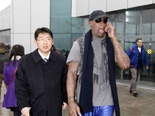 "Rodman in Nordkorea: ""Komme in Frieden"""