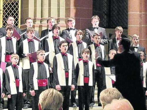Internationale Bachtage: Kiewer Knabenchor  zu Gast im Dom