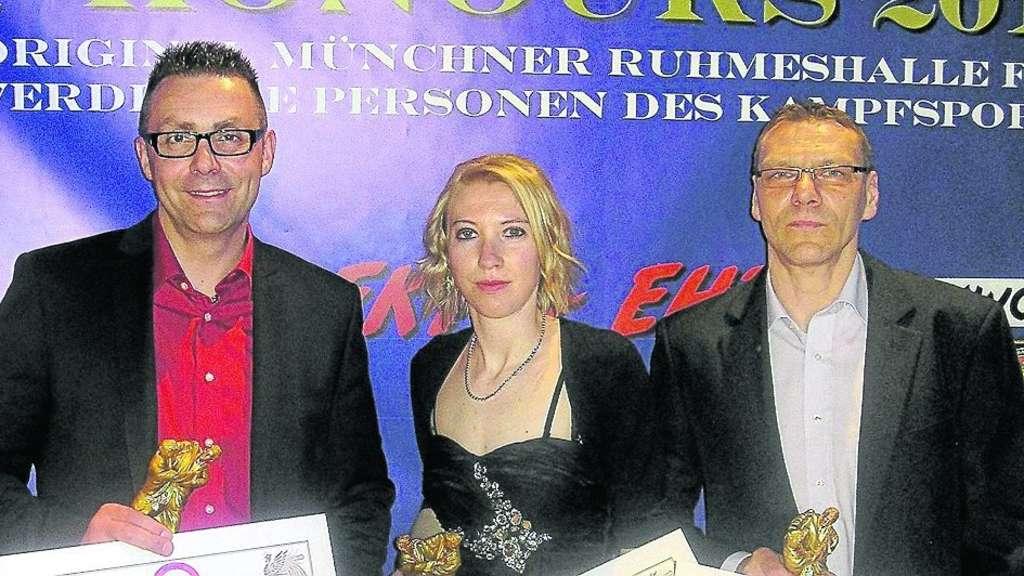 Mündener Trio in München geehrt | Regionalsport