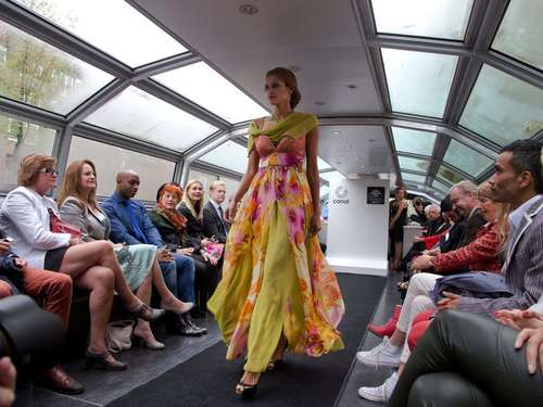 Mode auf Booten: Floating Fashion Week in Amsterdam